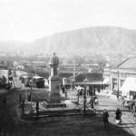 ზაარბრიუკენის მოედანი, ვორონცოვის ძეგლი, რომელიც აიღეს
