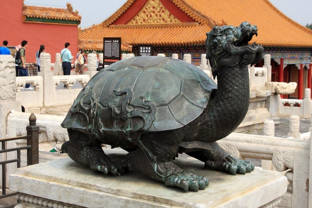 Tortoise in Imperial Garden shutterstock_61105780