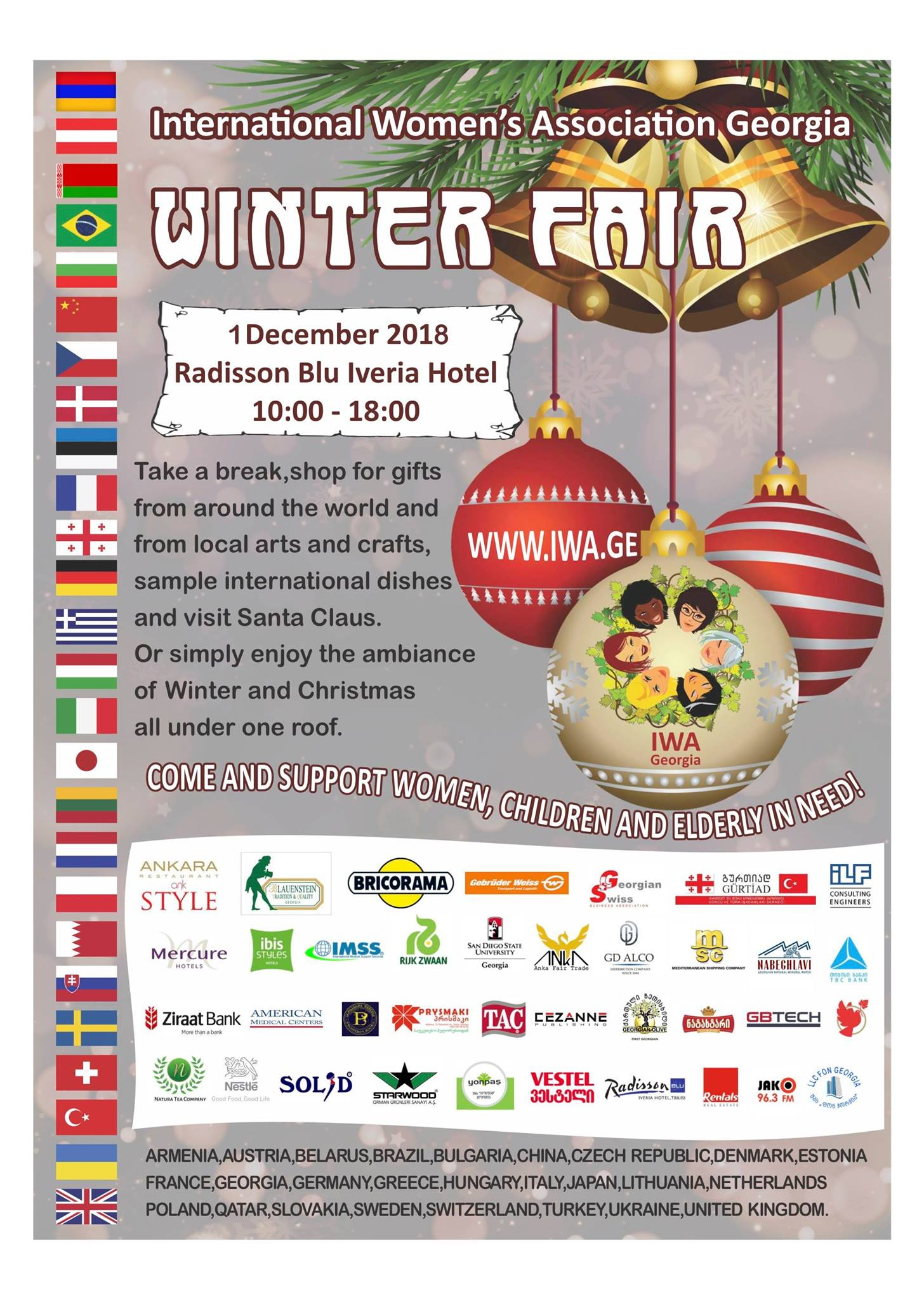 Winter fair. Photo